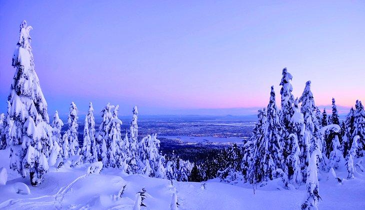 Vista de Vancouver desde Cypress Mountain