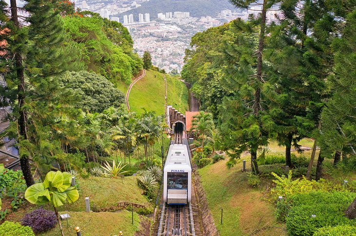Funicular on Penang Hill
