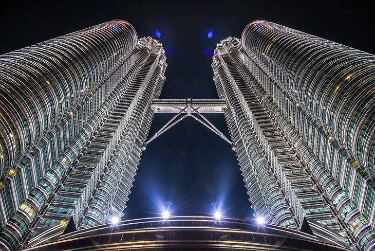برج های دوقلو پتروناس کوالالامپور مالزی