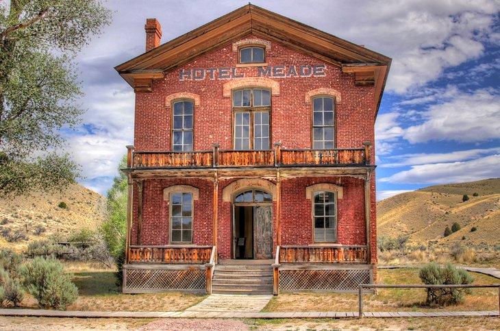 Hotel Meade en Bannack State Park