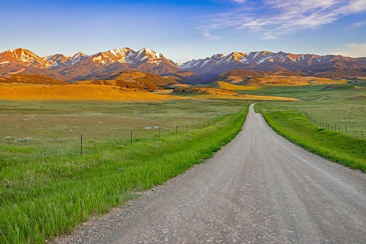 Camino a las Montañas Locas