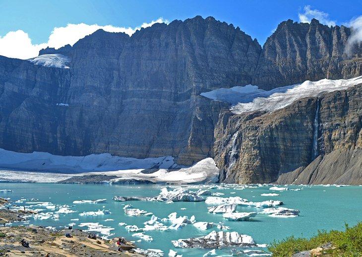 Caminata por el glaciar Grinnell desde Many Glacier Campground