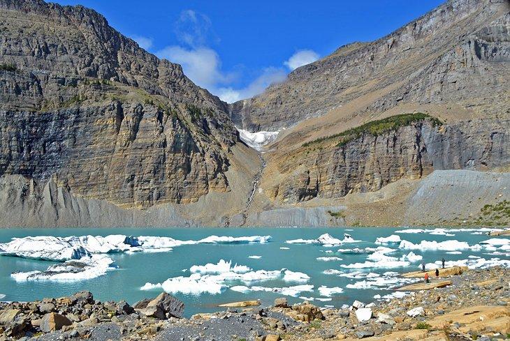 Glaciar Grinnell y el muro del jardín