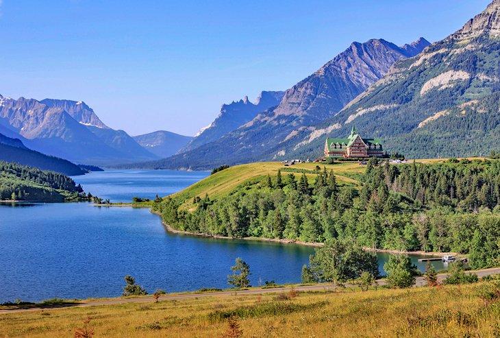 Lago Waterton, Parque Nacional Waterton Lakes