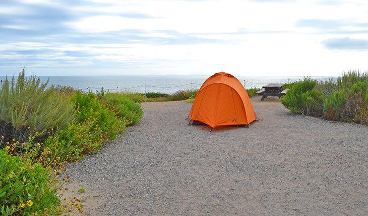 Océano Pacífico desde Moro Campground