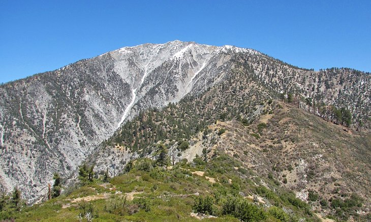 Vista del monte.  Calvo de Lookout Mountain