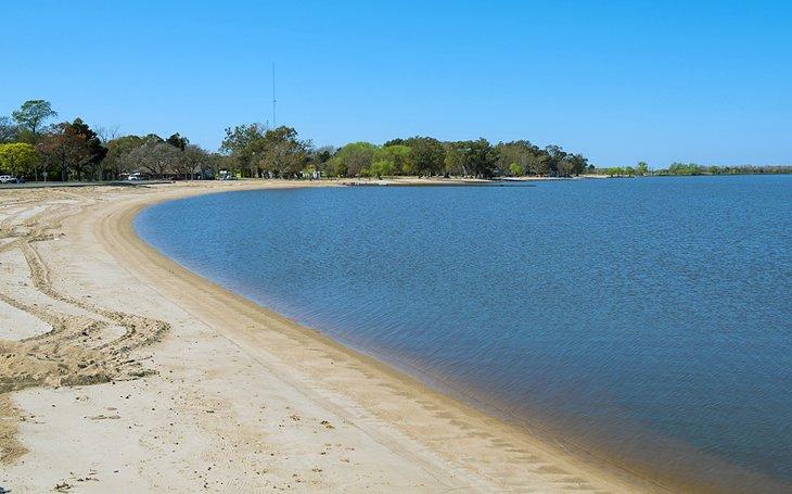 La playa de Carmelo, Uruguay