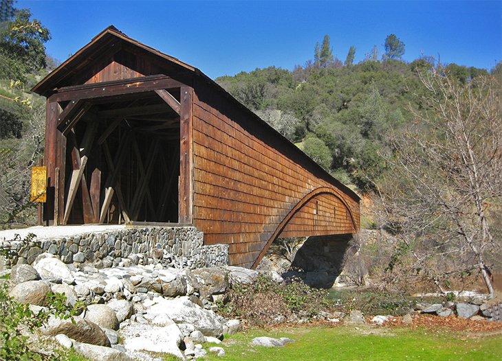 Puente Bridgeport, Parque Estatal South Yuba River