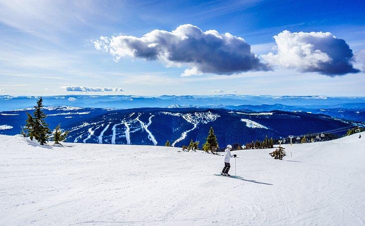 Estación de esquí Sun Peaks