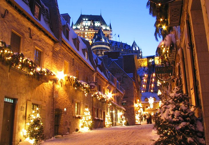 canada in pictures beautiful places to photograph quebec city winter