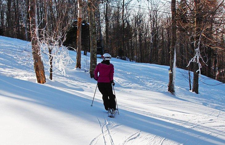 Esquí en Mount Sutton