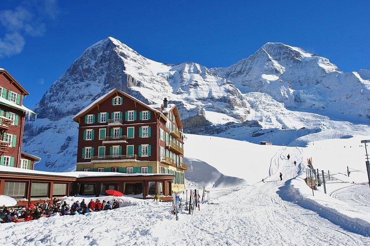 Estación de esquí Kleine Scheidegg