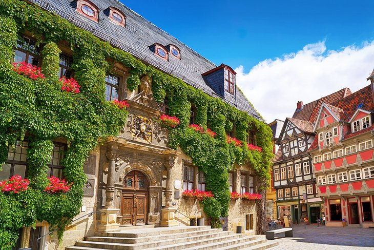 The Town Hall in Quedlinburg