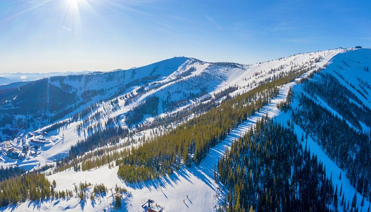 Montaña Schweitzer, Idaho