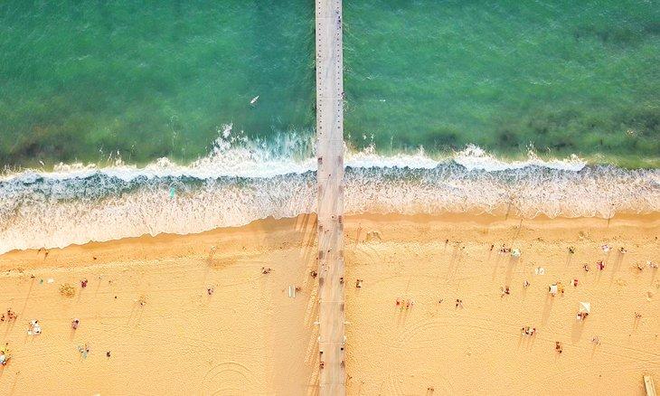 Vista aérea de Playa Hermosa