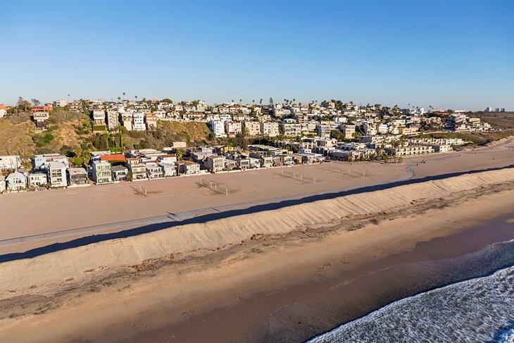 Aerial view of Playa del Rey