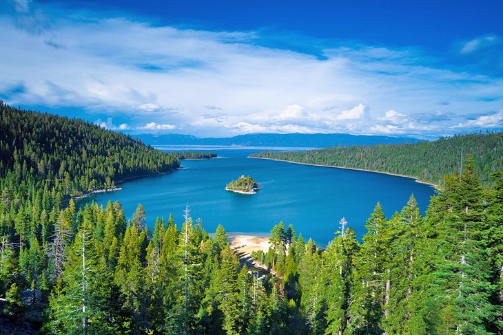 Fannette Island and Emerald Bay, Lake Tahoe