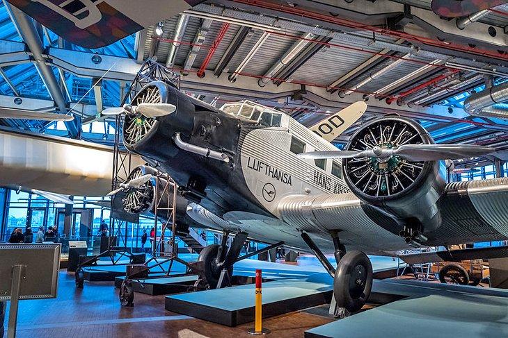 المتحف الألماني للتكنولوجيا في مدينة برلين