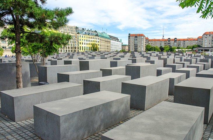 النُصب التذكاري لقتلى اليهود في أوروبا، مدينة برلين، ألمانيا