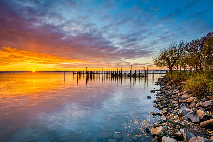 Sunrise over Chesapeake Bay