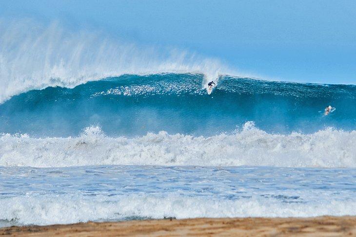 Surf de olas grandes en Puerto Escondido