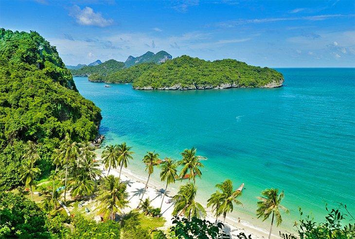 Национальный морской парк Анг Тхонг, Самуи.