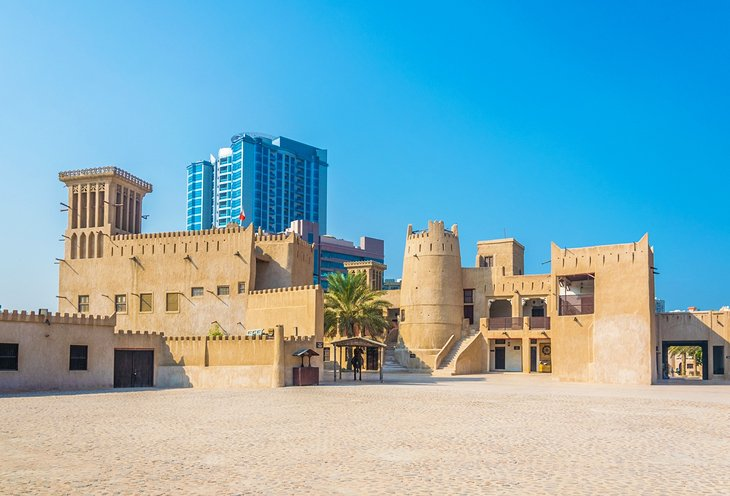 Old Ajman fort, now the Ajman Museum