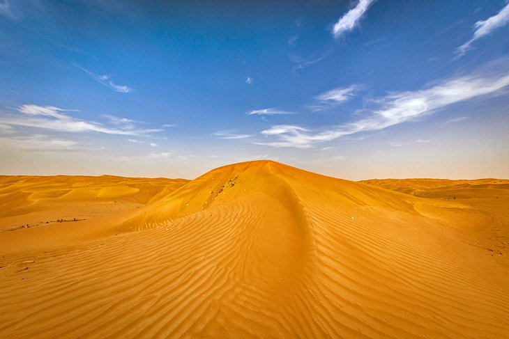 Dunes in Ras Al Khaimah