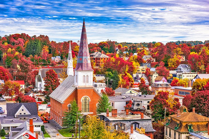 Montpelier in the fall
