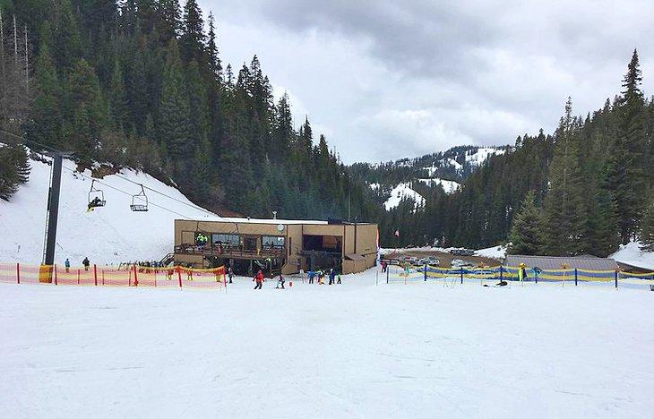 Área de la base de Ski Bluewood