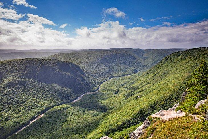 Vista desde Franey Trail
