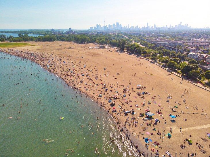 Woodbine Beach en las playas, Toronto