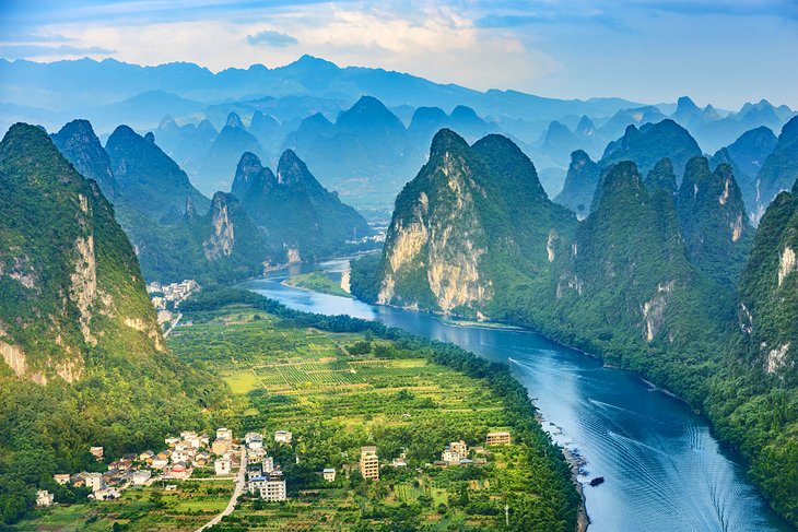 The Li River and the Karst Mountains
