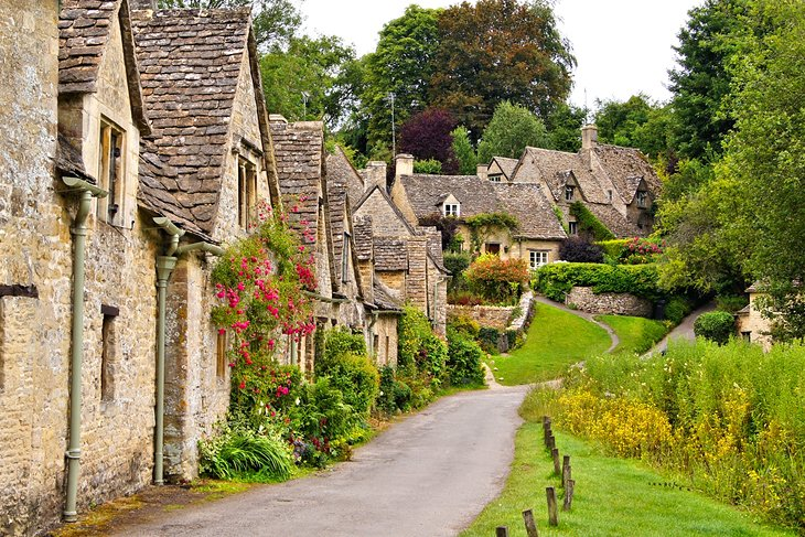 The beautiful Cotswold village of Bibury
