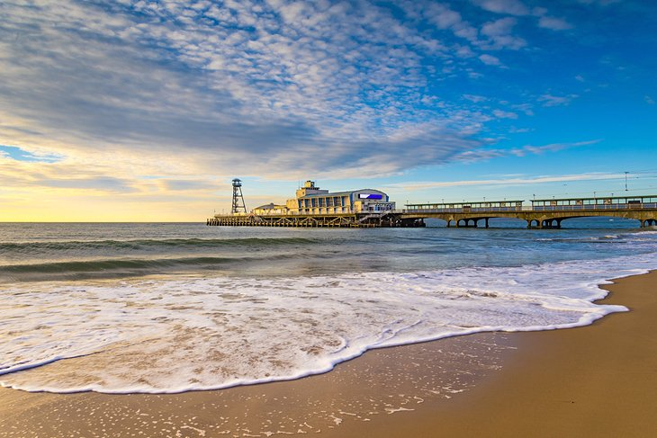 Bournemouth Pier at sunrise
