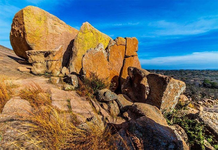Rock formations at Enchanted Rock State Natural Area