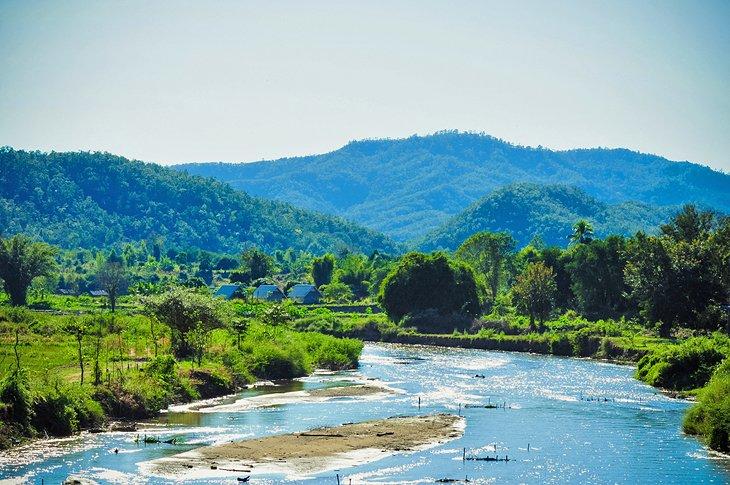 Река Пай и город Пай