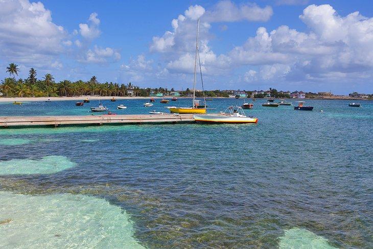 Puerto de la isla
