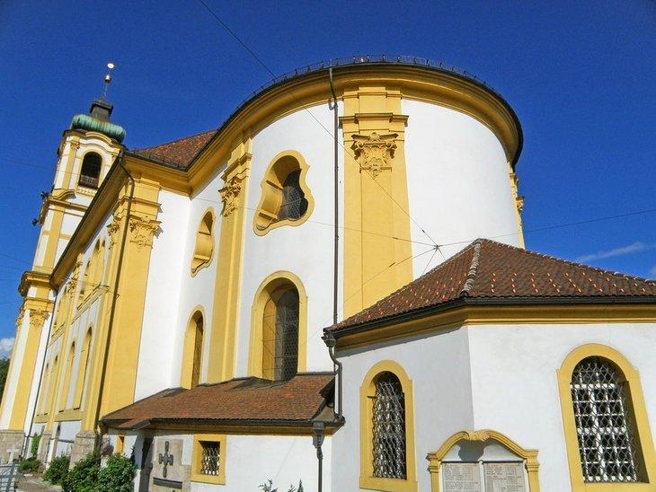 Iglesia parroquial y basílica de Wilten