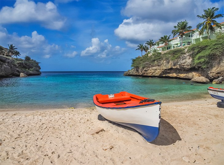 Playa Lagun Beach on Curacao