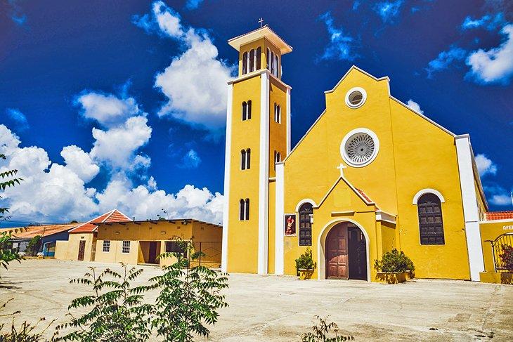 St. Louis Bertrand Church on Bonaire