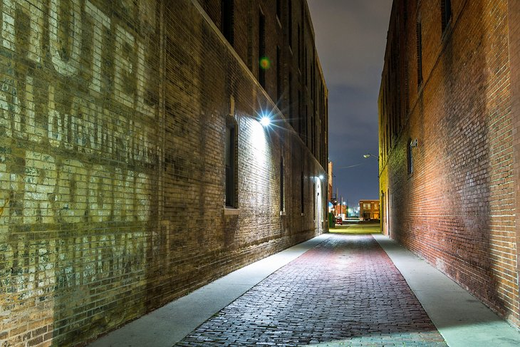 Alley in Old Town Wichita