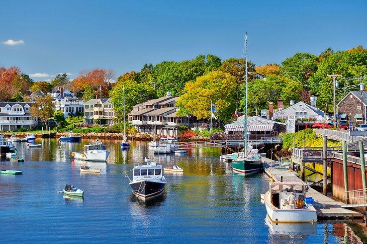 Barcos en Perkins Cove