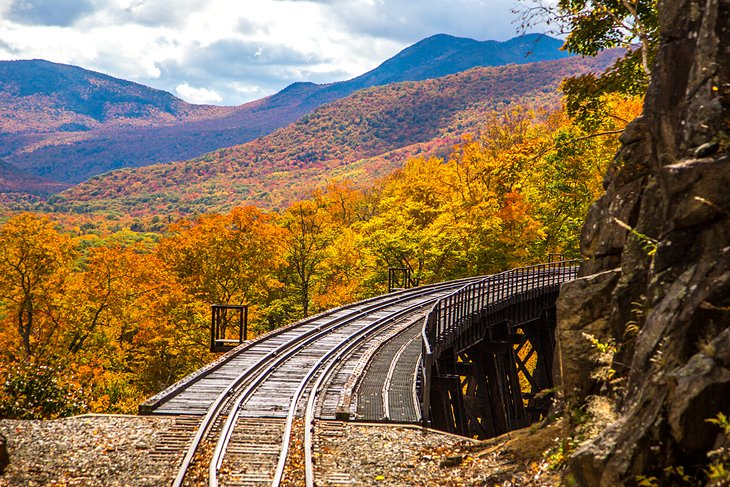 The Frankenstein Trestle, Crawford Notch