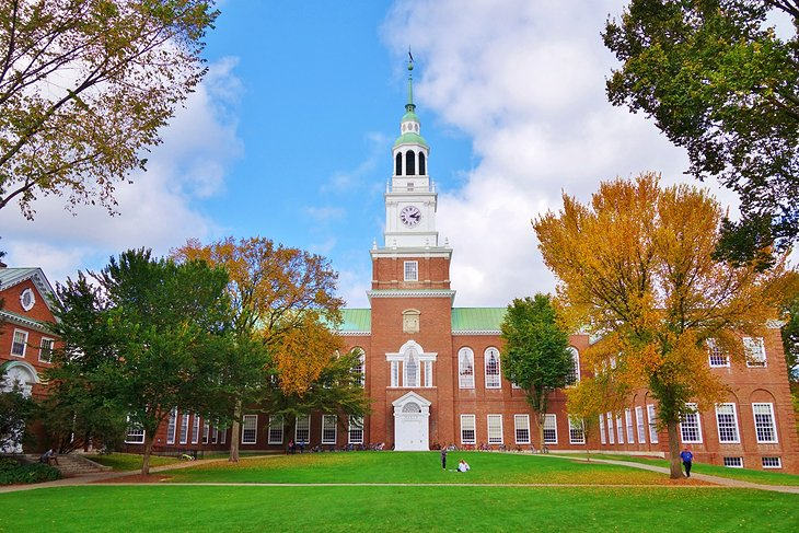 The Baker Library at Dartmouth College