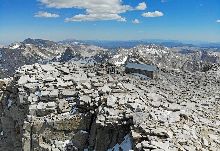 Cumbre del monte Whitney