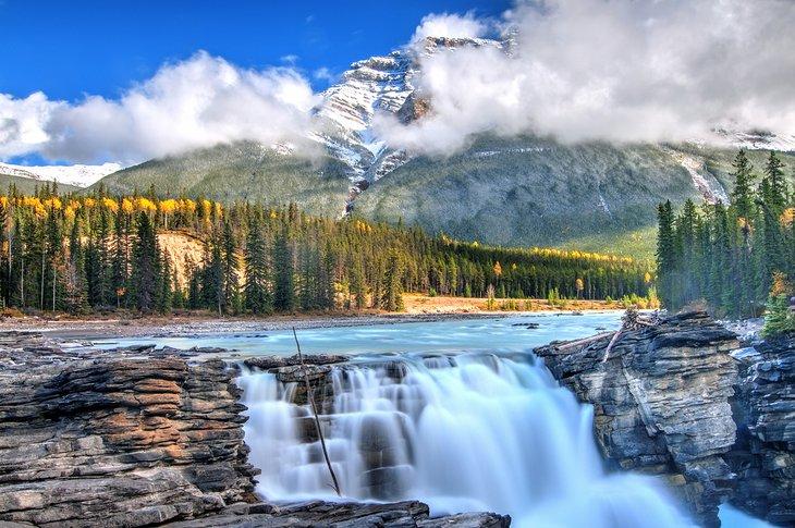 Athabasca Falls, Parque Nacional Jasper