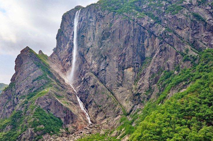 Pissing Mare Falls, Parque Nacional Gros Morne