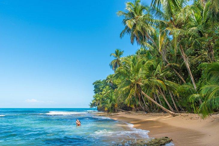 Пляж Мансанильо в Коста-Рике