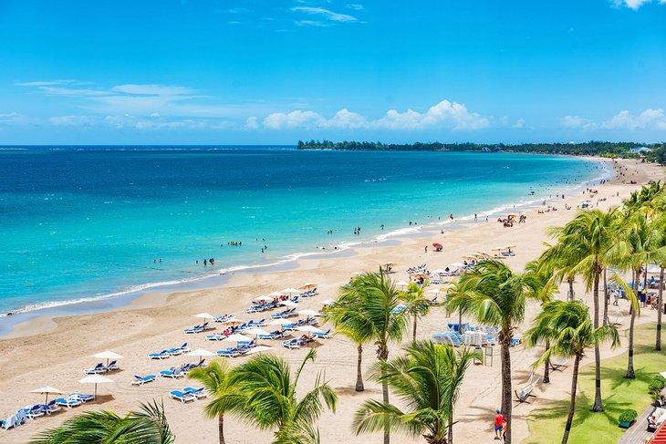 Курорт Исла-Верде в Сан-Хуане, Пуэрто-Рико.